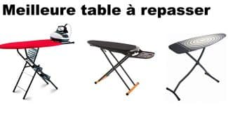 meilleure table à repasser
