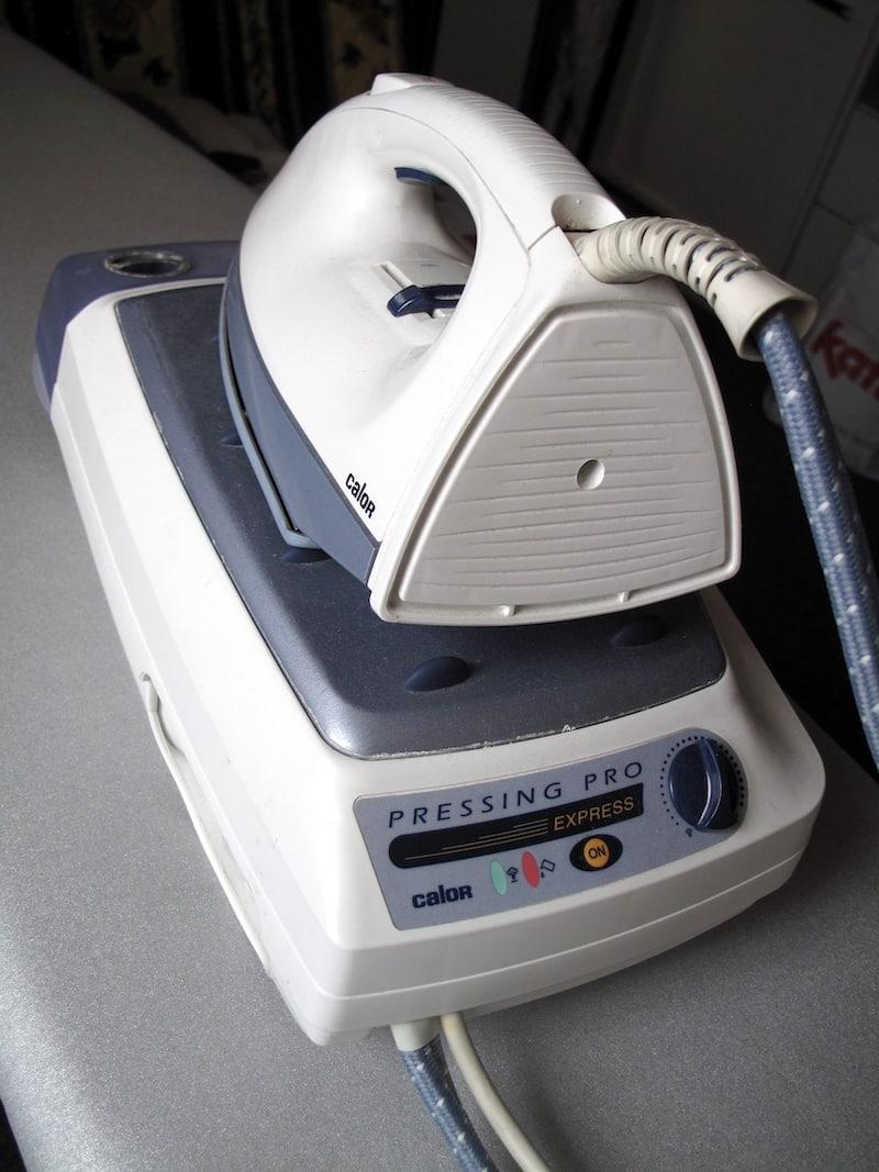 Centrale vapeur effet pressing